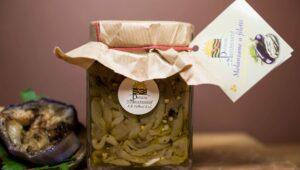 Melanzane a filetti in olio d'oliva 290gr in olio extravergine di oliva