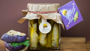 Involtini Melanzane Capperi Acciughe 290gr in olio extravergine di oliva