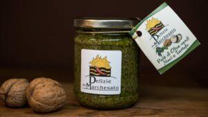 Patè di olive verdi, noci e tartufo