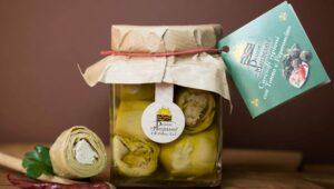 Carciofi ripieni Tonno Peperoncino 280gr in olio extravergine di oliva