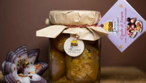 Cipolle ripiene Tonno Nduja 280gr in olio extravergine di oliva