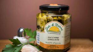 Zucchine Grigliate 290gr in olio extravergine di oliva